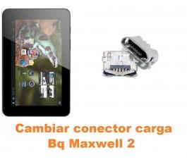 Cambiar conector carga Bq Maxwell 2