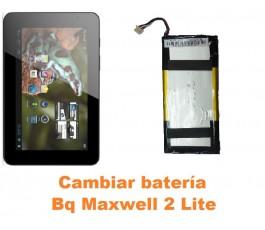 Cambiar batería Bq Maxwell 2 Lite