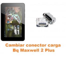 Cambiar conector carga Bq Maxwell 2 Plus