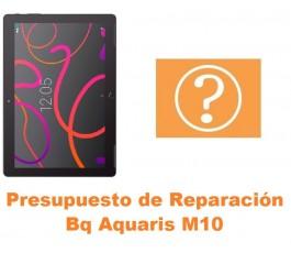 Presupuesto de reparación Bq Aquaris M10