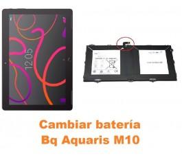 Cambiar batería Bq Aquaris M10
