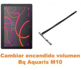 Cambiar encendido y volumen Bq Aquaris M10