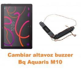 Cambiar altavoz buzzer Bq Aquaris M10