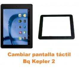 Cambiar pantalla táctil cristal Bq Kepler 2