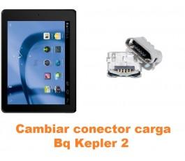 Cambiar conector carga Bq Kepler 2