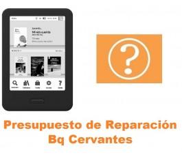 Presupuesto de reparación Bq Cervantes