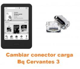 Cambiar conector carga Bq Cervantes 3