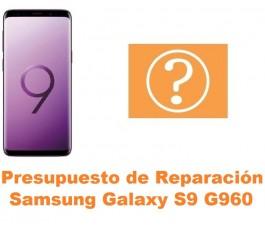 Presupuesto de reparación Samsung Galaxy S9 G960