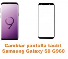 Cambiar pantalla táctil cristal Samsung Galaxy S9 G960