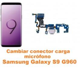 Cambiar conector carga y micrófono Samsung Galaxy S9 G960