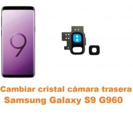 Cambiar cristal cámara trasera Samsung Galaxy S9 G960