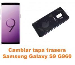 Cambiar tapa trasera Samsung Galaxy S9 G960