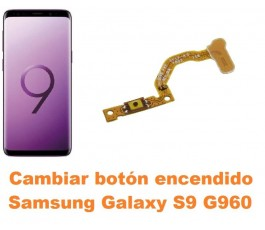 Cambiar botón encendido Samsung Galaxy S9 G960