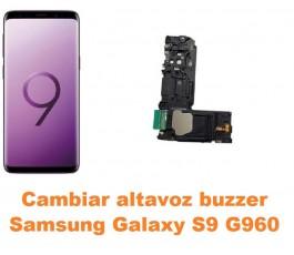 Cambiar altavoz buzzer Samsung Galaxy S9 G960