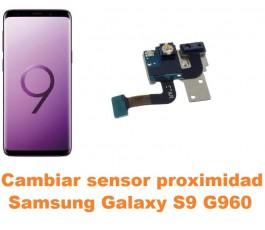 Cambiar sensor proximidad Samsung Galaxy S9 G960