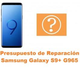 Presupuesto de reparación Samsung Galaxy S9 Plus G965