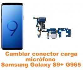 Cambiar conector carga y micrófono Samsung Galaxy S9 Plus G965