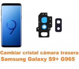 Cambiar cristal cámara trasera Samsung Galaxy S9 Plus G965