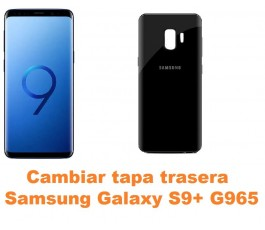 Cambiar tapa trasera Samsung Galaxy S9 Plus G965