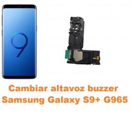 Cambiar altavoz buzzer Samsung Galaxy S9 Plus G965