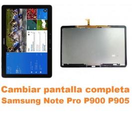 Cambiar pantalla completa Samsung Note Pro 12.2 P900 P905
