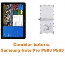 Cambiar batería Samsung Note Pro 12.2 P900 P905