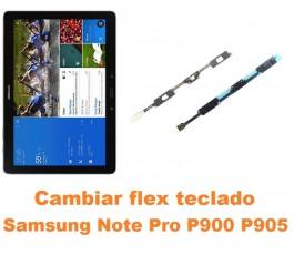 Cambiar flex teclado Samsung Note Pro 12.2 P900 P905