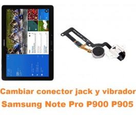 Cambiar flex jack audio y vibrador Samsung Note Pro 12.2 P900 P905