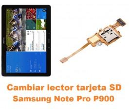Cambiar flex lector tarjeta SD Samsung Note Pro 12.2 P900