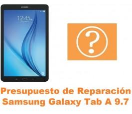 Presupuesto de reparación Samsung Tab A 9.7 T550 T551 T555