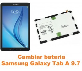 Cambiar batería Samsung Tab A 9.7 T550 T551 T555