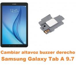 Cambiar altavoz buzzer derecho Samsung Tab A 9.7 T550 T551 T555