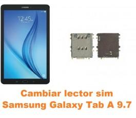 Cambiar lector sim Samsung Tab A 9.7 T550 T551 T555