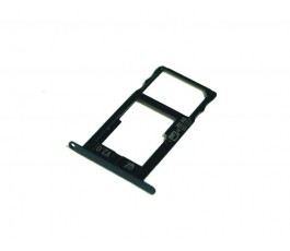 Porta tarjeta sim y microSD para Bq Aquaris X negro original