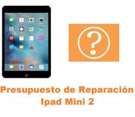 Presupuesto de reparación Ipad Mini 2