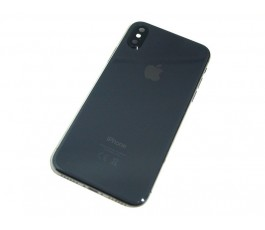 Carcasa con repuestos para iPhone X 10 negra original