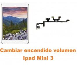 Cambiar encendido y volumen Ipad Mini 3