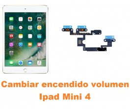 Cambiar encendido y volumen Ipad Mini 4