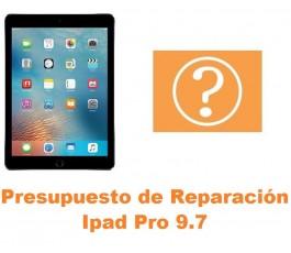 Presupuesto de reparación Ipad Pro 9.7