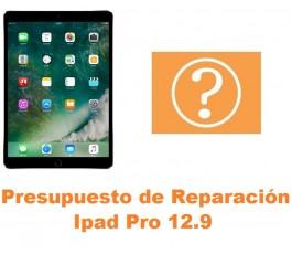 Presupuesto de reparación Ipad Pro 12.9