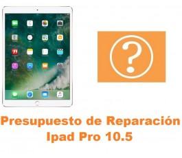 Presupuesto de reparación Ipad Pro 10.5 A1701 A1709