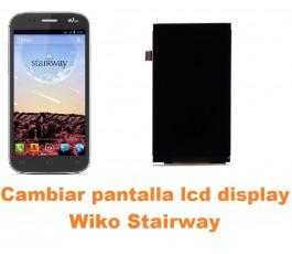 Cambiar pantalla lcd display Wiko Stairway