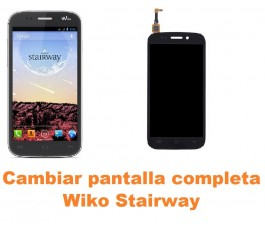 Cambiar pantalla completa Wiko Stairway