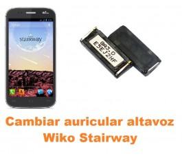 Cambiar auricular altavoz Wiko Stairway