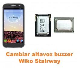 Cambiar altavoz buzzer Wiko Stairway