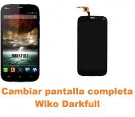 Cambiar pantalla completa Wiko Darkfull