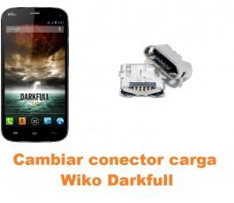 Cambiar conector carga Wiko Darkfull