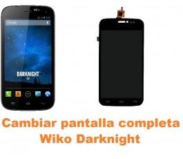Cambiar pantalla completa Wiko Darknight