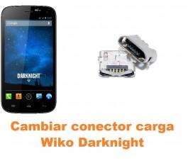 Cambiar conector carga Wiko Darknight