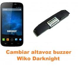 Cambiar altavoz buzzer Wiko Darknight
